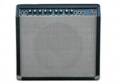 Guitar amplifier Stock Photos