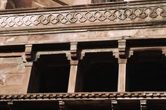 Stock Photo of Architectural detail of a fort, Agra Fort, Agra, Uttar Pradesh, India