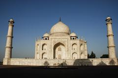 Facade of a mausoleum, Taj Mahal, Agra, Uttar Pradesh, India Stock Photos