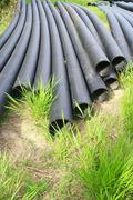 water rubber tube - stock photo