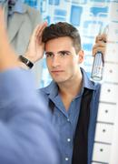 Man make hairstyle Stock Photos