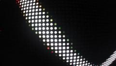 LED Light Leak Disco 4 - stock footage