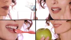 Dental care Stock Footage