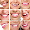Stock Photo of teeth collage of people smiles