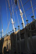 Stock Photo of Clipper ship, Amalfi, Province Of Salerno, Gulf Of Salerno, Tyrrhenian Sea,