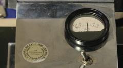 Voltage meter Stock Footage