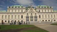 Stock Video Footage of Belvedere, Vienna