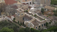 Stock Video Footage of Athens rooftops medium shot