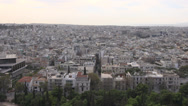 Stock Video Footage of Athens skyline wide shot