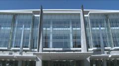 TILT DOWN - Washington Conference Center - stock footage
