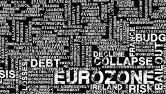 Eurozone crisis Stock Illustration