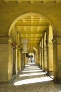 Archway of an embassy building, American Embassy Building, Valletta, Malta Stock Photos