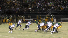 American High School Football Pass Tackle Arkistovideo