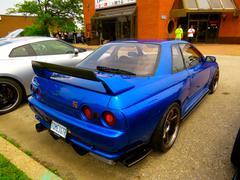 Nissan Skyline R32 GTR - stock photo