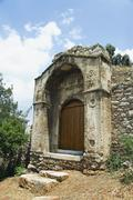 Stock Photo of Ruins of a house, Athens, Greece