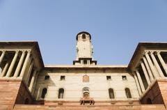 Stock Photo of Low angle view of a government building, Rashtrapati Bhavan, New Delhi, India