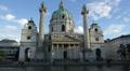 Karlskirche, Vienna Footage