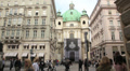 St Peter's church, Vienna Footage