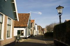 Dutch village Stock Photos