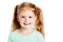 Cute three year old girl Stock Photos