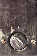 Close-up of a fan regulator - stock photo