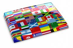 Collection of flags Stock Illustration