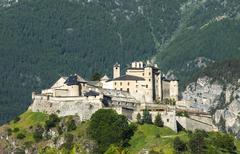 Chateau-queyras Stock Photos