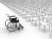 Stock Illustration of wheelchair  -  individuality concept