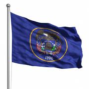 Flag of utah Stock Illustration