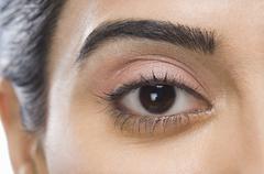 Close-up of a woman's eye Stock Photos