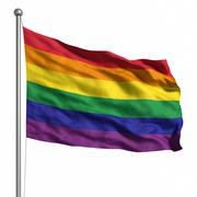 Stock Illustration of gay pride / rainbow flag