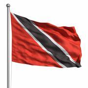 flag of trinidad and tobago - stock illustration
