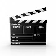 film slate - stock illustration