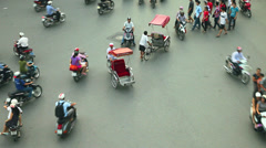 Hanoi Timelapse Traffic - Vietnam Stock Footage
