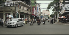 Streets of Vung Tau Stock Footage