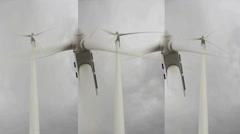 Tuulivoimala tuulimylly Arkistovideo