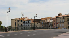 Agde, South of France 10 Stock Footage