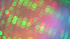 Light particles drifting Stock Footage