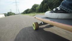 Skate - stock footage