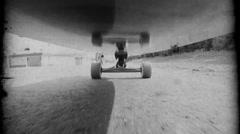 Stock Video Footage of Vintage Skateboarding