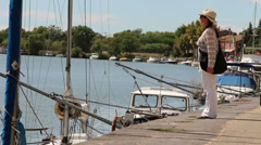 Agde, South of France 8 Stock Footage