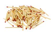 Stock Photo of Close-up of a heap of matchsticks