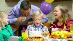 Birthday boy Stock Footage
