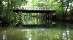 Spreewald Boating Stock Footage