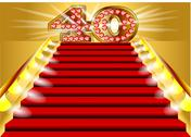 Stock Illustration of 40 years anniversary