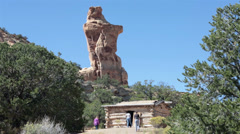 Swasey Cabin Historic San Rafael desert Utah HD 9885 Stock Footage