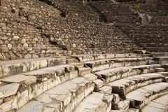 Greek theater at ephesus Stock Photos