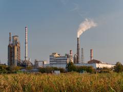 Chemical Faciory Stock Photos