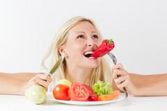 Stock Photo of Healthy Food