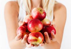 Stock Photo of healthy fruit organic apple